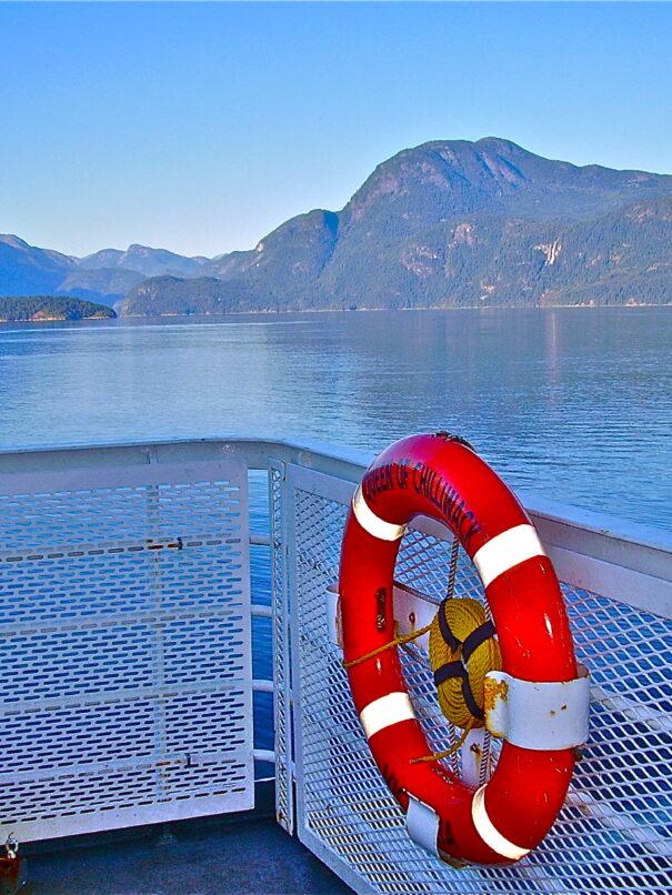 BC Ferry to Texada Island
